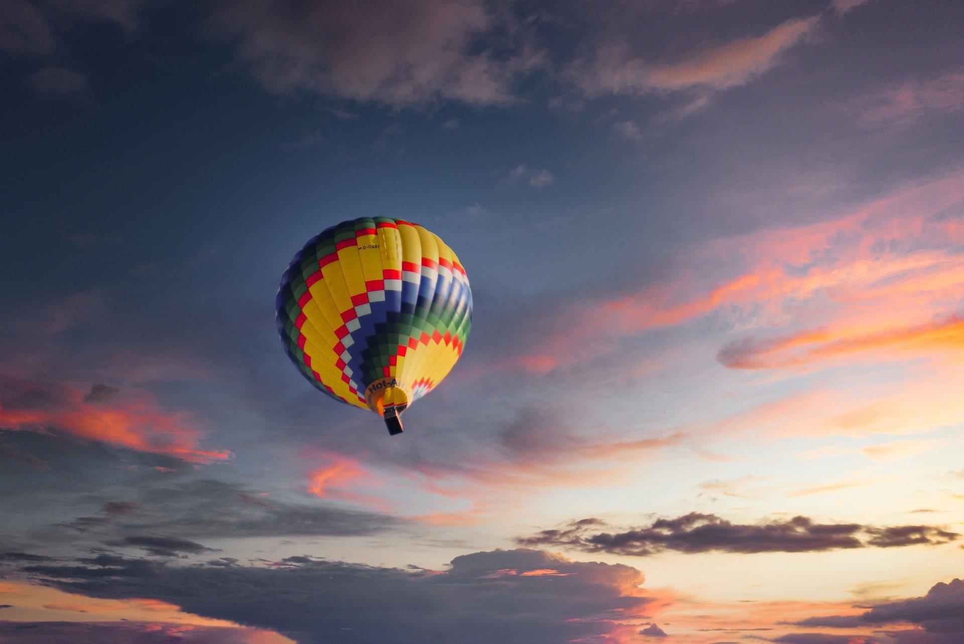 Comment visiter l'Auvergne en montgolfière ?